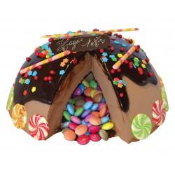Surprise chocolat personnalisé