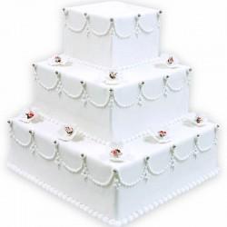Wedding-Cake Impératrice - Pièce Montée mariage - Pâtisserie La Romainville