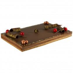 Jet Set - Entremets chocolat de 24 à 64 parts - Pâtisserie La Romainville