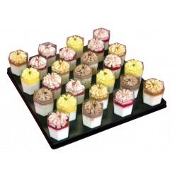 Mini-verrines panna cotta - cocktails sucrés