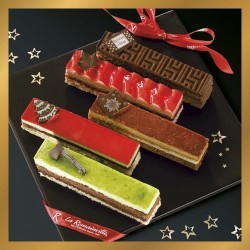 Coffret gourmand - collection Noel - pâtisserie La Romainville