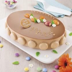 Gâteau Magie de Pâques - Praliné  - Pâtisserie La Romainville