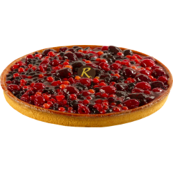 Forestière - Tarte aux fruits rouges - La Romainville