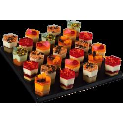 Mini-verrines tout fruits - cocktails sucrées - pâtisserie La Romainville