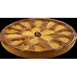 Tarte aux poires Amandine - Pâtisserie La Romainville