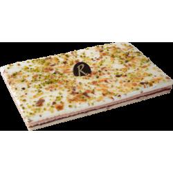 Gâteau Nougat framboise  - Pâtisserie La Romainville
