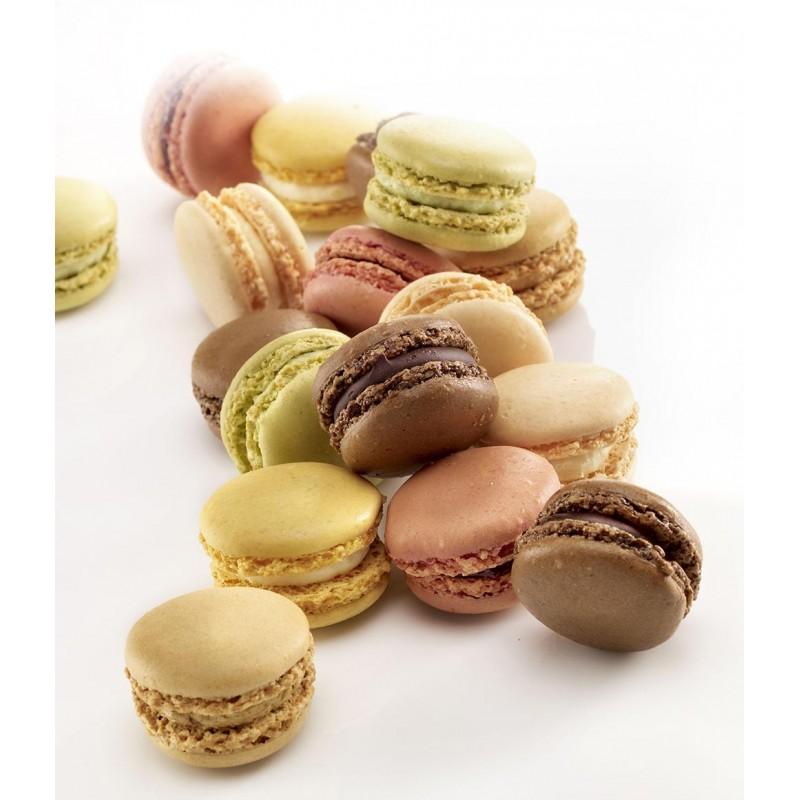 Macarons multi-parfums - Pâtisserie La Romainville