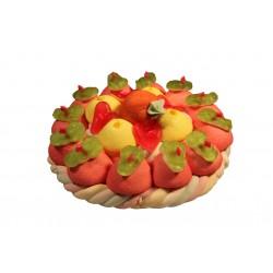 Gâteau de bonbons et guimauves - Anniversaire enfant  - Pâtisserie La Romainville