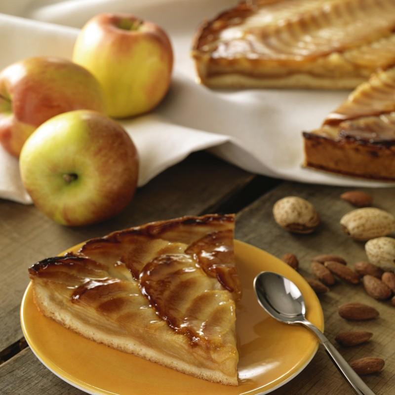 Délicieuse Tarte aux pommes  - Pâtisserie La Romainville