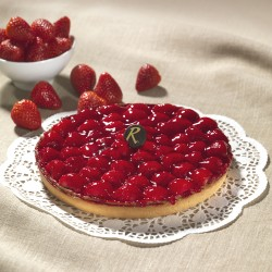 Tarte aux fraises - Pâtisserie La Romainville