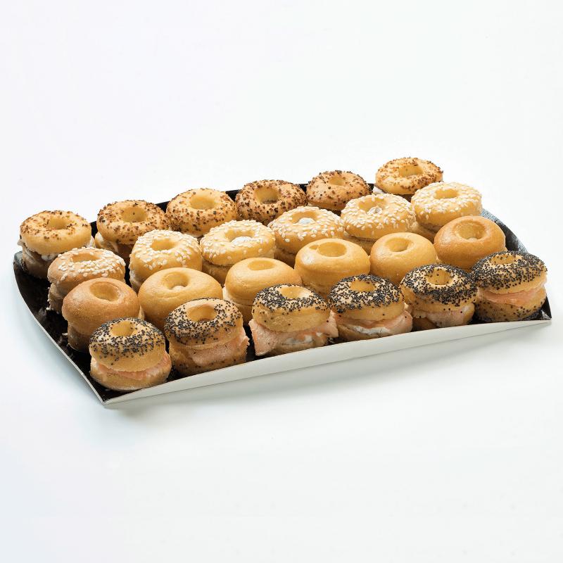 Mini-Bagels briochés - Pâtisserie La Romainville