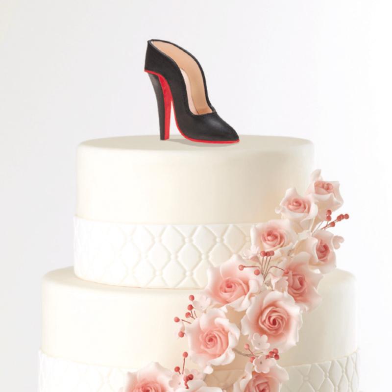 Chaussure en sucre - Décoration gâteau - Accessoires La Romainville