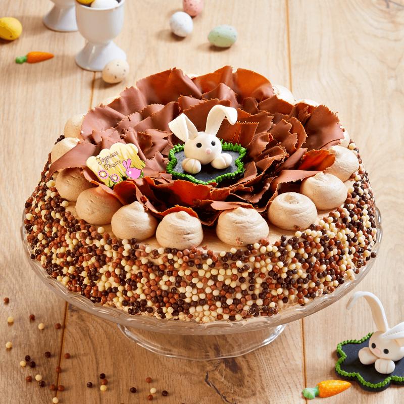 Pâquatella - dessert au nutella - collection de Pâques - Pâtisserie La Romainville