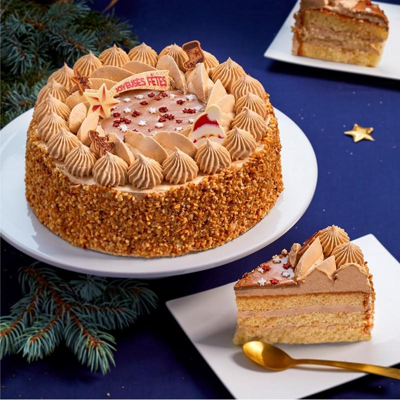 gâteau incroyable noisette pour les fêtes