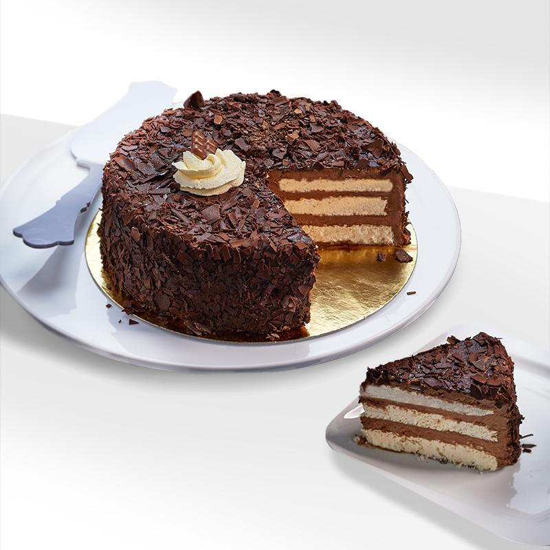 Merveilleux chocolat meringue - dessert glacé - Pâtisserie La Romainville