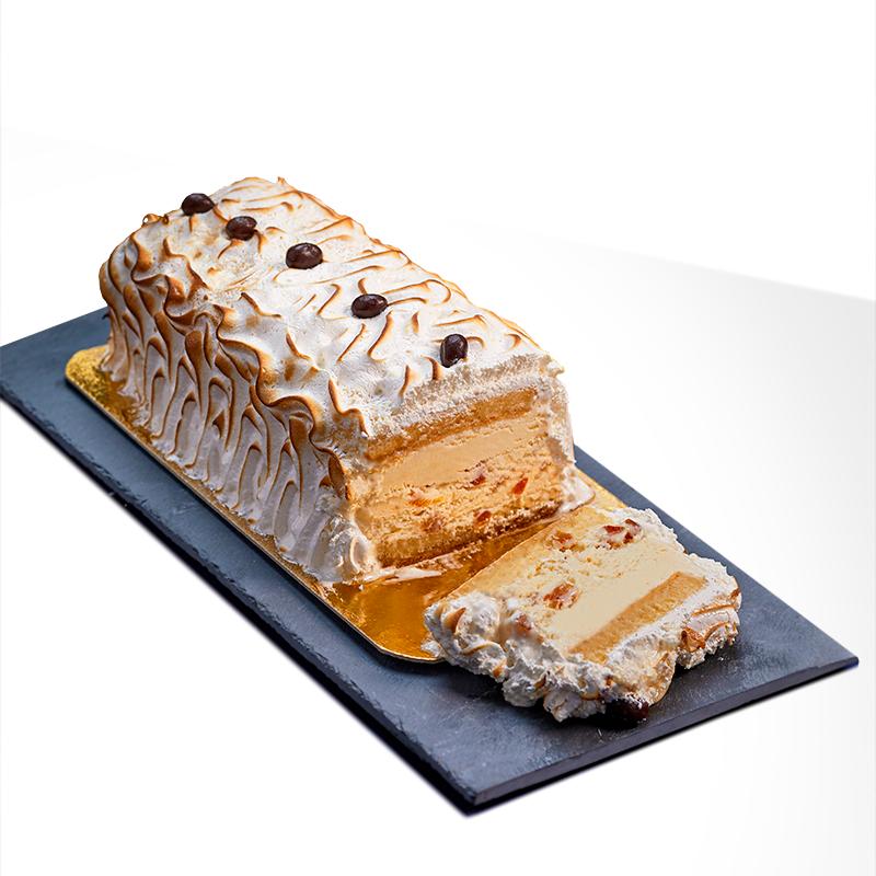 Dessert glacé Omelette Norvégienne - Pâtisserie La Romainville
