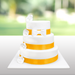 Wedding Cakes - Mariage - Marilyn Jaune