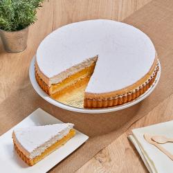 Tarte sicilienne - crème citron et meringue - Pâtisserie La Romainville