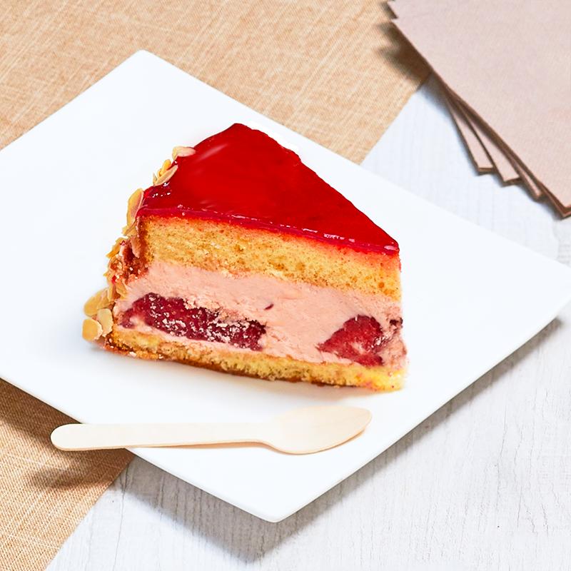 Fraisier personnalisé - gâteau avec photo - Pâtisserie La Romainville