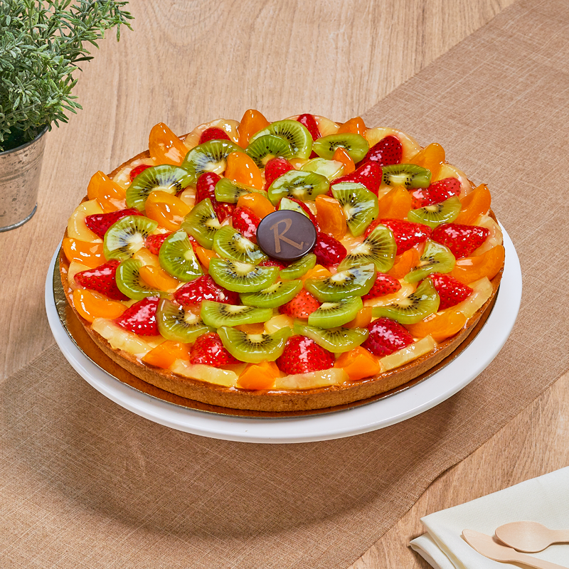Tarte printanière multi-fruits  La Romainville