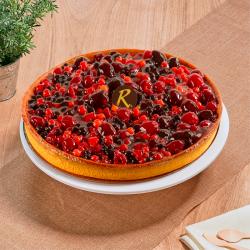 Forestière - Tarte aux fruits rouges - La Romainville