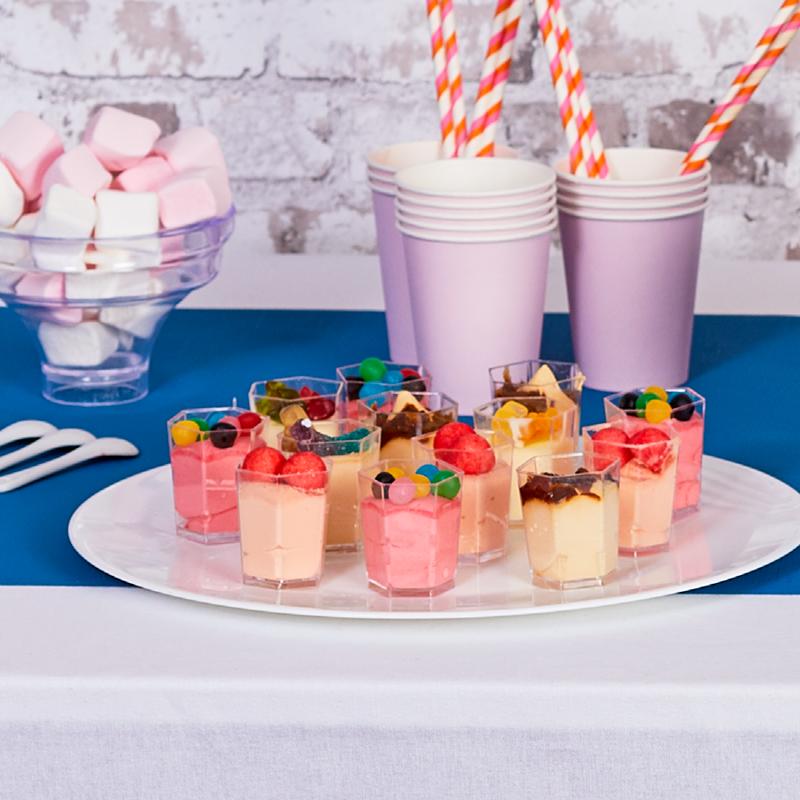 Mini-verrines bonbons - cocktails sucrées - pâtisserie La Romainville