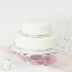 diamant wedding cake 2 etages