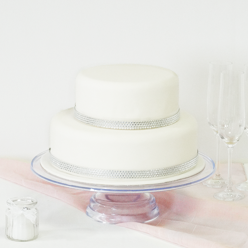 diamant wedding cake 2 etages