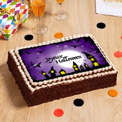 gâteau Village Hanté d'Halloween