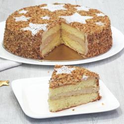 Noisette Etoilé - Moka Noisette - Desserts Noël et Réveillon