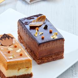 Bûchette Diamant Chocolat - Noël La Romainville