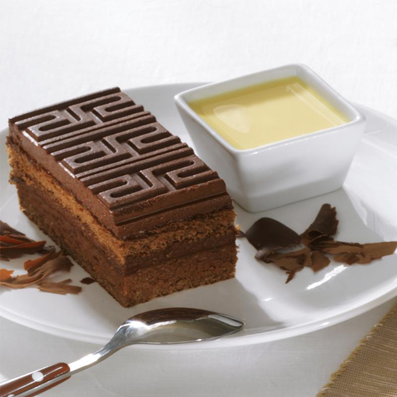 Craqueline - gâteau croquant chocolat au lait - La Romainville