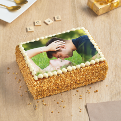 Poirier personnalisé - gâteau photo - Pâtisserie La Romainville