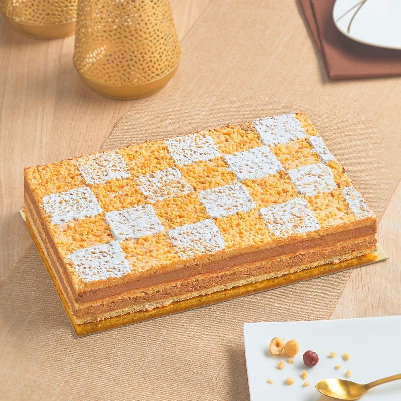 Succès - délicieux gâteau chocolat noisette - Pâtisserie La Romainville