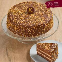 Rocher Chocolat - layer cake au chocolat et noisette - La Romainville