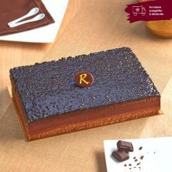 entremets au chocolat délicieusement cacao pâtisseries La Romainville