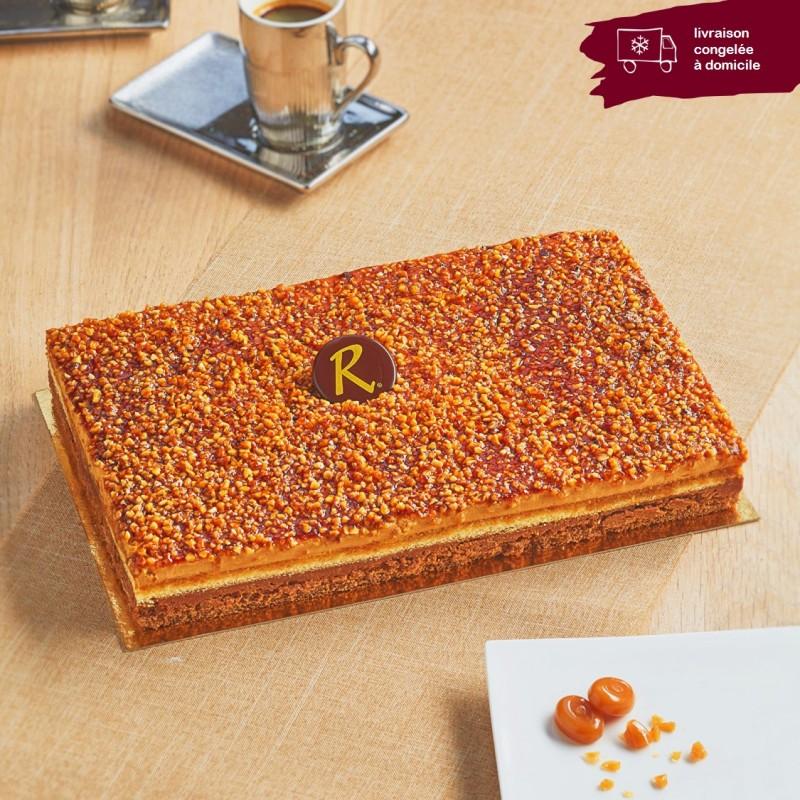 Croquant Caramel en livraison à domicile - Pâtisserie La Romainville