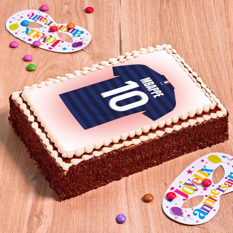 gâteau chocolat football équipe de France