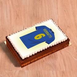 Gâteau photo Maillot de foot Italie