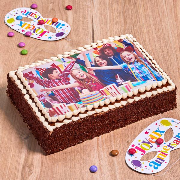 gâteau photo personnalisée